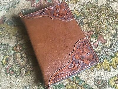 Vogt Floral Tooled Corners Notebook