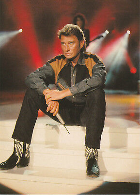 Carte  Postale  :  Johnny  Hallyday  N°  27