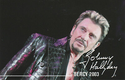Carte Postale Johnny Hallyday  N°  58