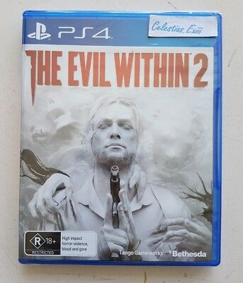 PS4 The Evil Within 2 for PlayStation 4, official AU/NZ version New And Sealed