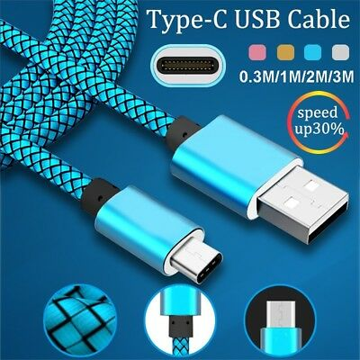 3.1 Cable Sync Data Fast Charging USB-C For Samsung Galaxy Note9 S8 S9+ Plus
