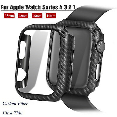 38/42/40/44 mm PC Frame Protector iWatch Bumper Case Cover fr Apple Watch 4 3 2