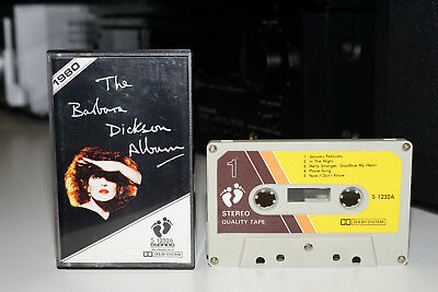 The Barbara Dickson Album/Cassette/Tape/Collectors Import/Fully Play Tested