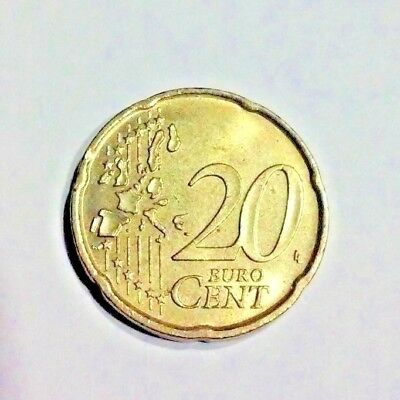 Italy 20 Cent Euro Coin. Superb Condition. Special 4 Coins  (Very Fast Shipping)