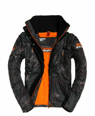 New Mens Superdry Polar Sd-Wind Attacker Camo Blur