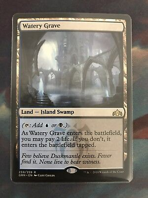 """MTG  Guilds of Ravnica    """"WATERY GRAVE""""   NM"""