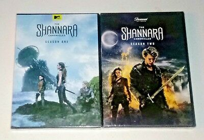 New! The Shannara Chronicles: Seasons 1 & 2. 6-Disc Bundled Dvd Set. Ships Free