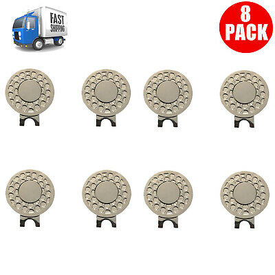 4 Pack Golf Hat Clip Magnetic For Golf Ball Marker Au Stock Finger Ten