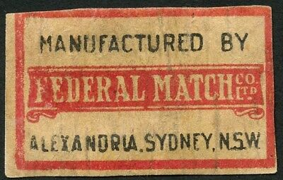 Matchbox Label / Labels Australia 9. Box