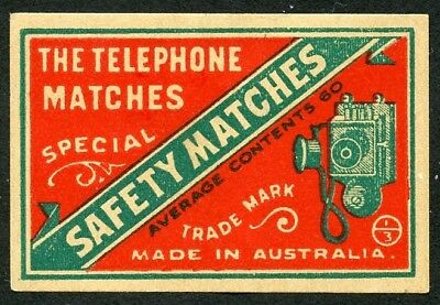 Matchbox Label / Labels Australia 16. Box