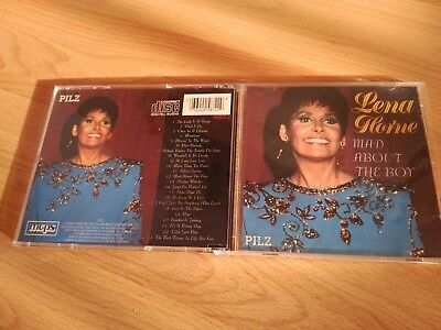 CD - Lena Horne - Mad About the Boy (No Jewel Case)