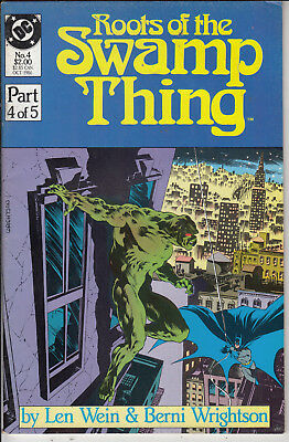 ROOTS OF THE SWAMP THING  #4 of 5   VF- /VF+ 1986 AMERICAN D.C  COMIC VERY CLEAN