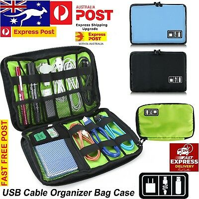Electronics Storage Case Bag Universal Travel Cables Organizer Bag Accessories