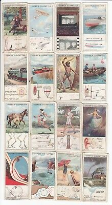 """PHYSICS: 16 Vintage """"Marvels in Motion"""" Science Trade Cards from 1928 Newton +++"""