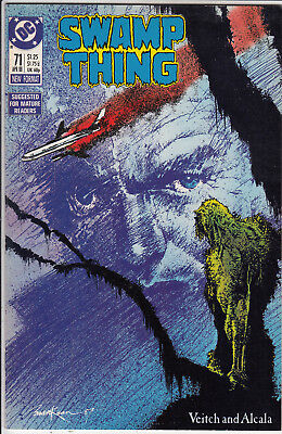 Swamp Thing  # 71   Vf- /vf+ 1988  American D.c  Comic Very Clean