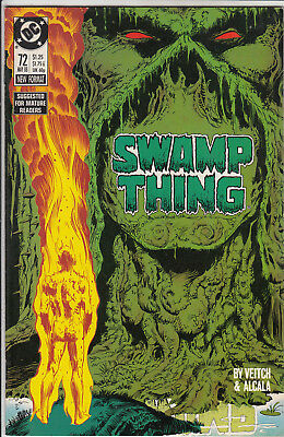 Swamp Thing  # 72   Vf- /vf+ 1988  American D.c  Comic Very Clean