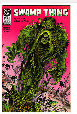 Swamp Thing  # 73   Vf- /vf+ 1988  American D.c  Comic Very Clean