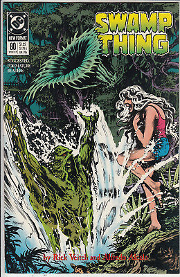 Swamp Thing  # 80   Vf- /vf+ 1988  Winter  American D.c  Comic Very Clean