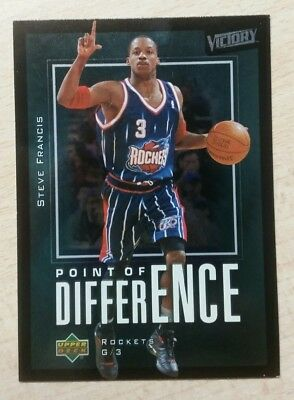 Upper Deck 2003/2004 Victory Point Of Difference Steve Francis