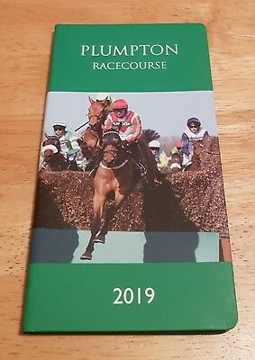 VGC Plumpton Racecourse Pocket 2019 Racing / Sports Diary (Same Day Dispatch !!)