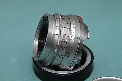 Leica summicron-M 35mm f2 lens 8 elements (Made in Germany) near mint!