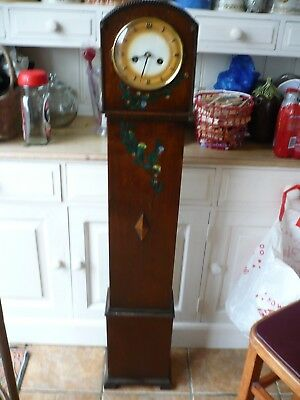 Antique German Grandmother Clock