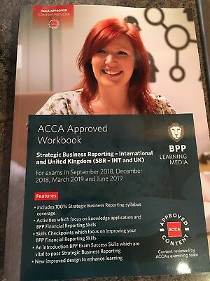 ACCA SBR BPP Workbook & Practice Revision Kit 2019