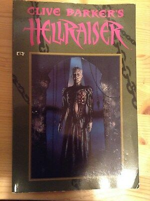 Clive Barker Hellraiser paperback graphic novel first edition first print 1991