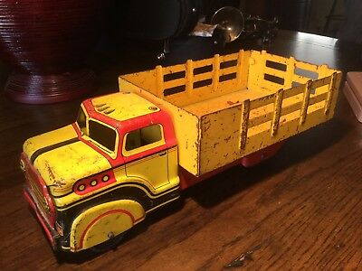 Vintage 1950's Marx Delivery Truck - Clean and Good Condition!