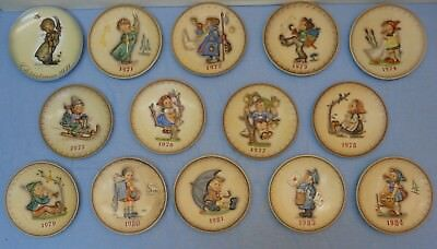14 Hummel Annual Plates - Goebel 1971-1984 missing 1982 Pick your dates!