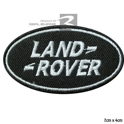 Land Rover Car Brand Logo Racing sponsor Embroidered Iron On Patch Sew On Badge
