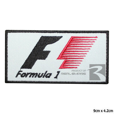 Formula 1 F1 Motor Sport Racing sponsor Embroidered Iron On Patch Sew On Badge