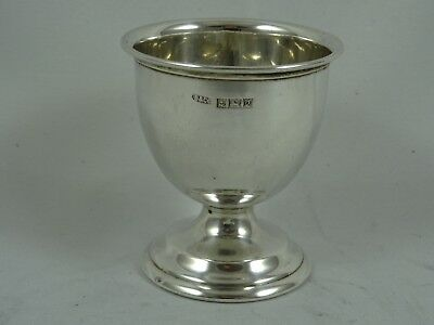 SOLID silver EGG CUP, 1965, 25gm