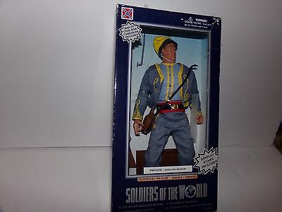 Soldiers Of The World Civil War Figure/Doll & Weapons Private Infantry NIB 1998