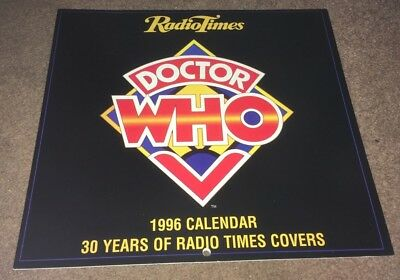 Dr Doctor Who Calendar 1996 - 30 years of Radio Times Covers