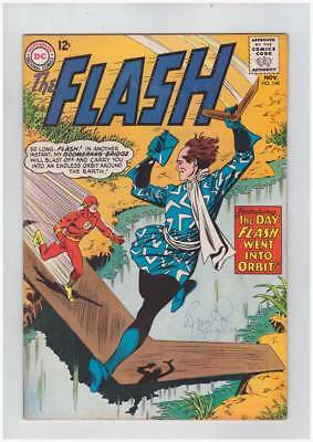 Flash # 148  The Day Flash Went Into Orbit !  grade 6.0 scarce book !