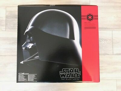 Hasbro Legends Star Wars Darth Vader Black Series Electronik Helm Neu & OVP