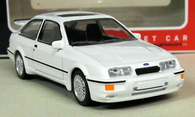 Norev 1/43 Scale - Ford Sierra RS Cosworth 3 Door White Diecast Model Car