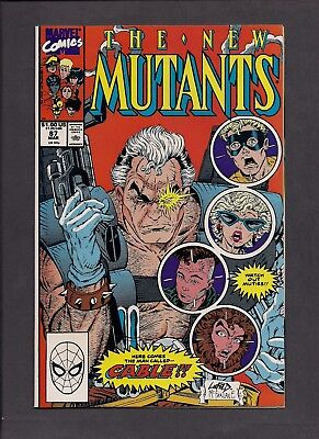 New Mutants #87, First app of Cable - (March 1990 - Marvel)