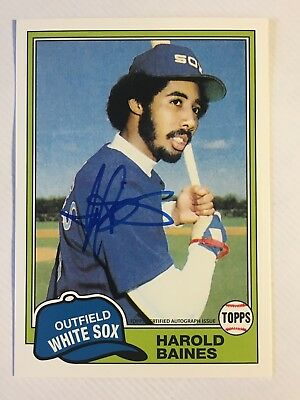 2016 Topps Archives 65th Anniversary Edition Autographs Harold Baines HOF