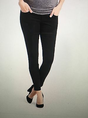 New Gap True Skinny Jeans Maternity Size 6 (28) demi panel 295389 Retail $75