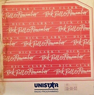 Radio Show: Dick Clark's Rr&r 10/10/92 Ray Charles Tribute & Elvis Interview