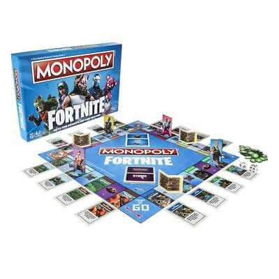 Monopoly Fortnite Edition Board Game NEW SEALED by HASBRO english & french cards