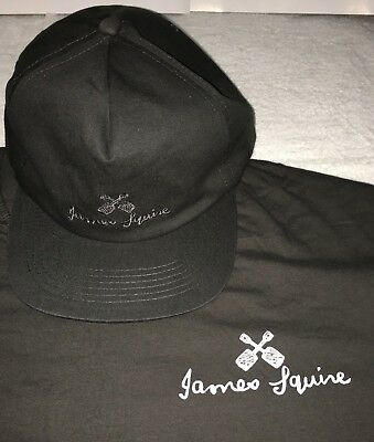 James Squire T-Shirt And James Squire Cap/Hat Combo Malt Shovel Promo Gear