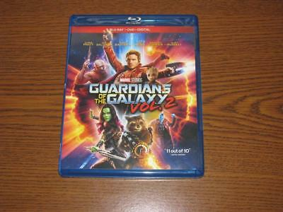 Guardians of the Galaxy Vol. 2 (Blu-ray/DVD, 2017, 2-Disc Set)