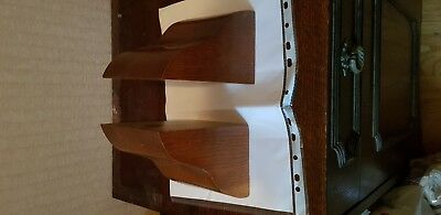 Vintage Wooden Bookends