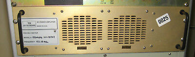 TE SYSTEM R.F. POWER AMPLIFIER VHF (150 - 174 MHz )