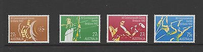 AUSTRALIA 1982 COMMONWEALTH GAMES Set of 4 MINT NEVER HINGED