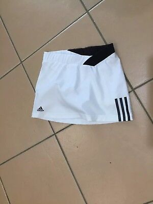 New Girls Adidas Tennis Skirt With Attached Shorts Size 11-12Yr
