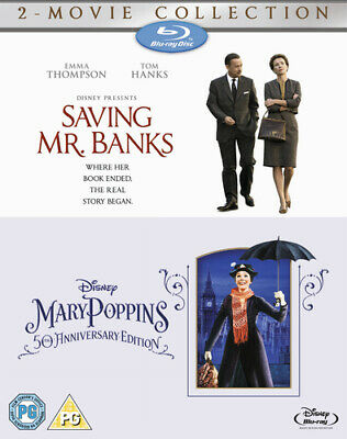 Saving Mr. Banks/Mary Poppins Blu-ray (2014) Tom Hanks, Stevenson (DIR) cert PG